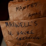 "A sample of 3 bags of apples from the ""M""s. Photo by Jan Mangan"