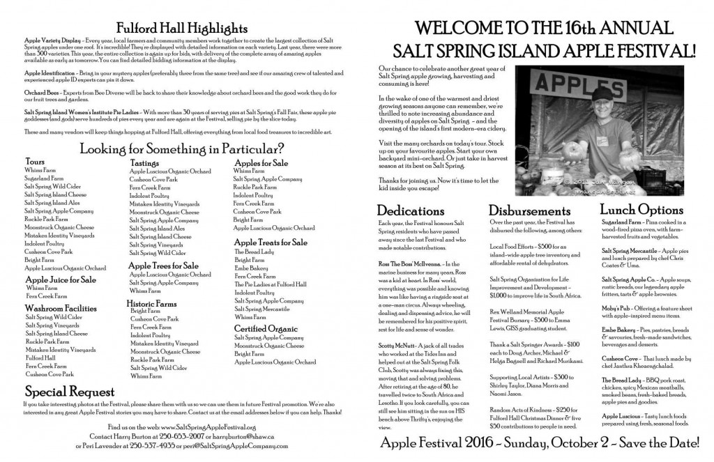 Apple Festival Program_2015-frontback
